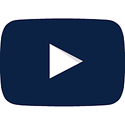 Video Icon Dark Blue